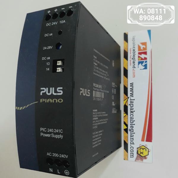 DIN Rail Power Supply Industri PULS 24Vdc 10A PIC240.241C kompetitor Phoenix Contact