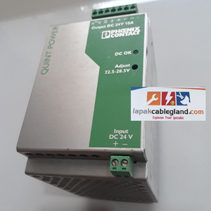 Dari Power Supply Industri DC to DC PHOENIX CONTACT Quint PS/24DC/24DC/10 Converter 2