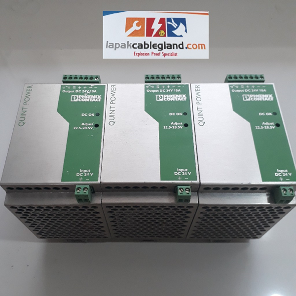 Power Supply Industri DC to DC PHOENIX CONTACT Quint PS/24DC/24DC/10 Converter