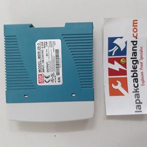 Dari Din Rail Power Supply Industri MEANWELL 5Vdc 3A 15W untuk CCTV LED omron 1