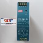 Din Rail Power Supply Industri MEANWELL 24Vdc 5A 120W Model : EDR-120-24 omron phoenix quint 2