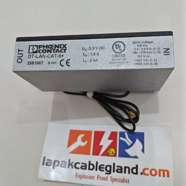 Surge Arrester PHOENIX CONTACT D-LAN-CAT.6+ Ethernet RJ45