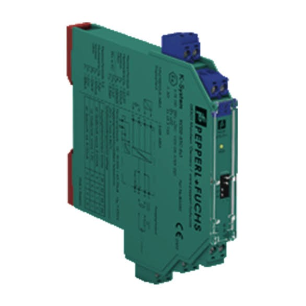 Safety IS Barrier PEPPERL+FUCHS KCD2-SCD-EX1 utk AO SMART Driver Safety relay