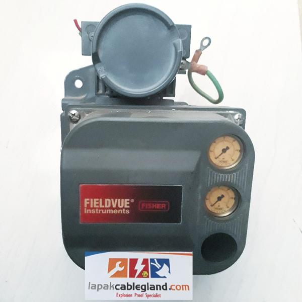 Smart Positioner FISHER DVC6000 Fieldvue bekas untuk Control Valve