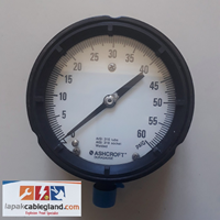 Pressure Gauge ASHCROFT 4-1/2 inch pressure transmitter