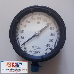 From Pressure Gauge ASHCROFT 4 1/2 inch 0
