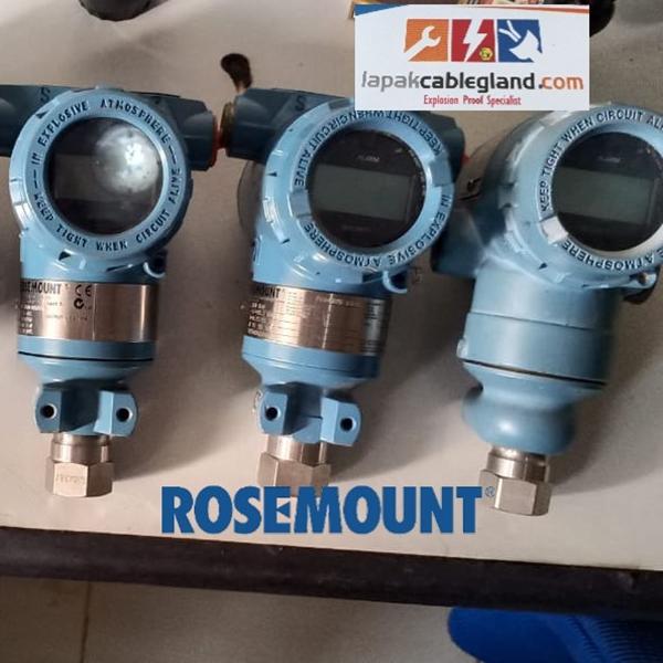 Pressure Transmitter ROSEMOUNT 3051TG dan 2051TG 2nd hand masih bagus & normal serta murah