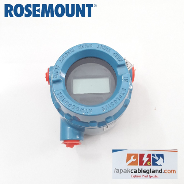 TemperatureTransmitter ROSEMOUNT 644 w/ display BNIB