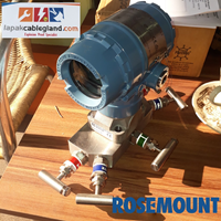 Differential Pressure Transmitter ROSEMOUNT 2051CD new with manifold