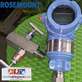 Pressure Transmitter ROSEMOUNT 3051TG3 new with 2way manifold