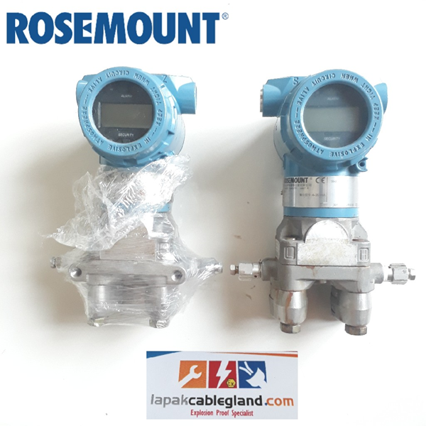 Differential Pressure Transmitter ROSEMOUNT 3051DP3 bekas bagus normal