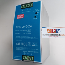 DIN Rail Power Supply MEANWELL 10A 24Vdc 240W NDR-