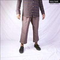 Sirwal Syar'i-Celana Muslim Pria-Sirwal Classic Swarna-Stretch Hitam 1