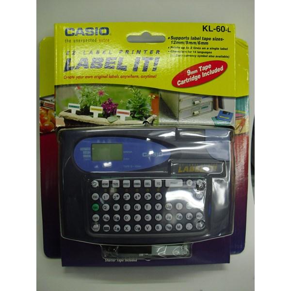 Printer Label Casio KL 60