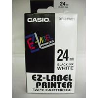 Jual Casio 24mm XR-24WE1 Black Ink on White