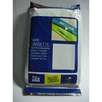 Pita Coding Brother 24mm TZe-651 Black Ink on Yellow Tape