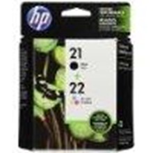 HP 21 Black & HP 22 Tri-color Original Ink Cartridges