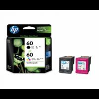 HP 60 Black Color Original Ink Cartridge Combo Pack