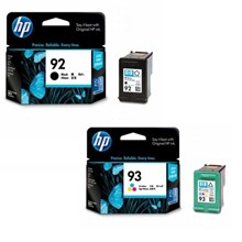 HP tinta 92Black 93Color