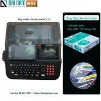 MAX tube marking machine electronic lettering machine LM 550A PC