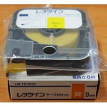 Tape Cassette LM 390A 12MM YELLOW
