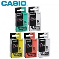 Jual LEBEL CASIO TAPE 6mm 9mm 12mm 18mm 24mm