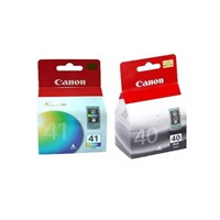 Canon Cartridge PG-40-Black + CL-41- Color