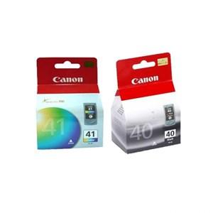 Canon Cartridge PG-40-Black + CL-41- Color