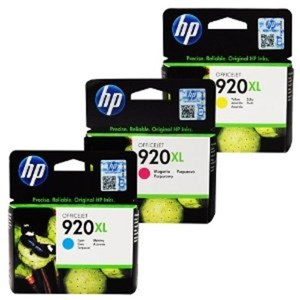 HP Tinta 920XL  B CMY