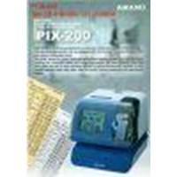 Jual Mesin Absensi Kartu Validasi Time Clock Amano Pix 200