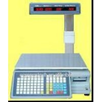 Jual Supermarket Label Printer Scale Weighing Scale Barcode Printing Scales 2