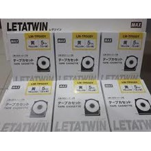 Label Marker Letter Twin Tape   LM TP505Y