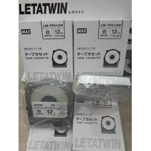 Label Marker Letter Twin Tape Cassette LM-TP509W