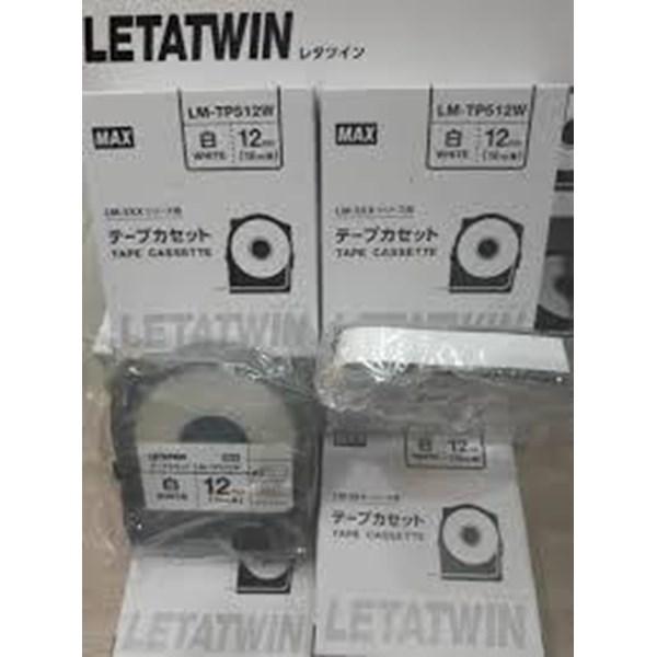 Label Marker Letter Twin Tape Cassette LM-TP509W