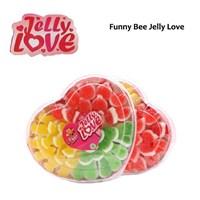 Makanan Manis - Funny Bee Permen Jelly Toples Premium Lebaran