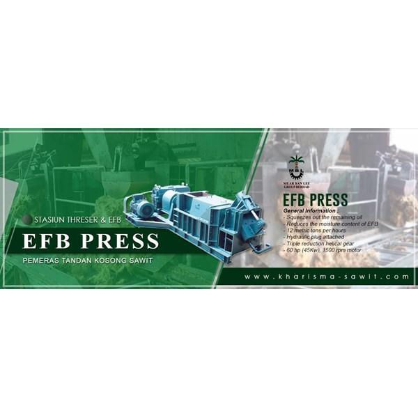 Mesin Press Tandan Kosong Sawit