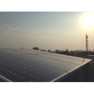 Pembangunan Pembangkit Listrik Tenaga Surya (PLTS) By PT  GLOBAL ENERGI MANDIRI