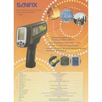 Dual Laser Infrared Thermometer & Thermocouple Socket Sanfix It2400 1
