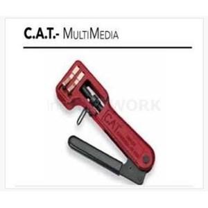 Cat Multimedia Compress Tool Untuk Rca Dan Bnc Konektor