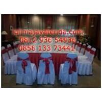 Sarung Kursi Merah Putih 1