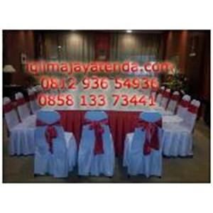 Sarung Kursi Merah Putih
