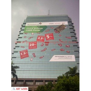 Spesialis Branding Sticker Gedung By UD. Artwork-Ads