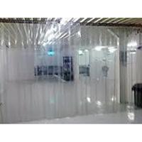 Tirai PVC Curtain Plastik Bening