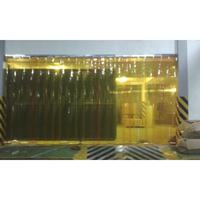 Tirai PVC Curtain Kuning Glodok