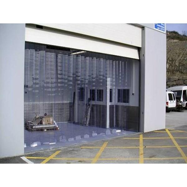Tirai PVC Plastik Curtain Sliding