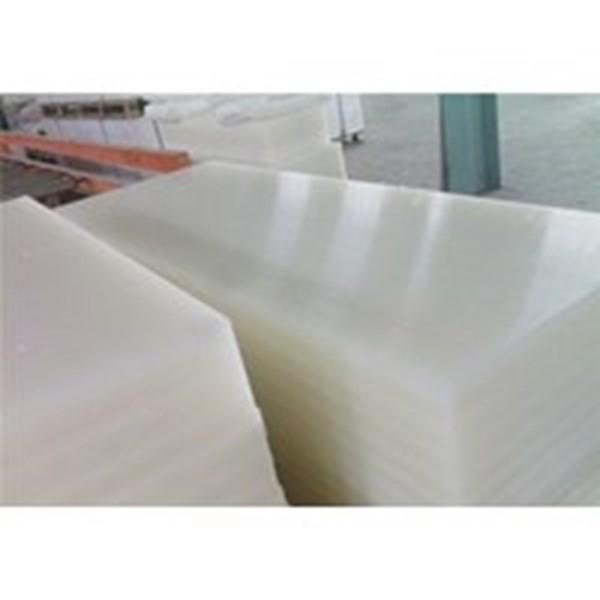 Bahan Baku Nylon Putih Sheet