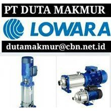 LOWARA PUMP PT DUTA PUMP CENTRIFUGAL LOWARA PUMP - LOWARA MULTISTAGE PUMP - LOWARA SUBMERSIBLE PUMP