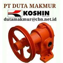 KOSHIN GEAR PUMP PT DUTA MAKMUR TYPE GB TYPE  GC G