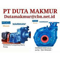 WARMAN WEIR  SLURRY PUMP PT DUTA MAKMUR  PUMP