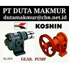 PTDUTA MAKMUR PUMP /SELL GEAR PUMP KOSHIN 1